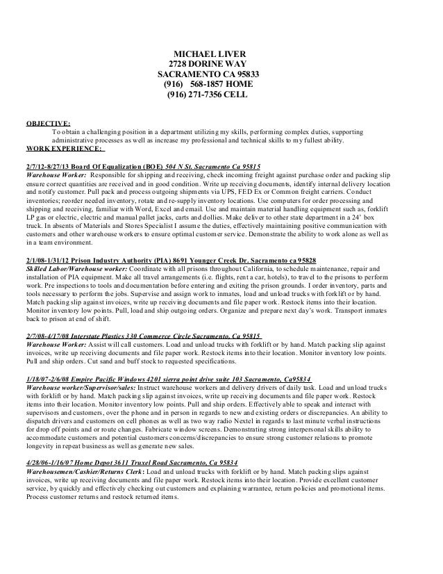 michael resume almostly done