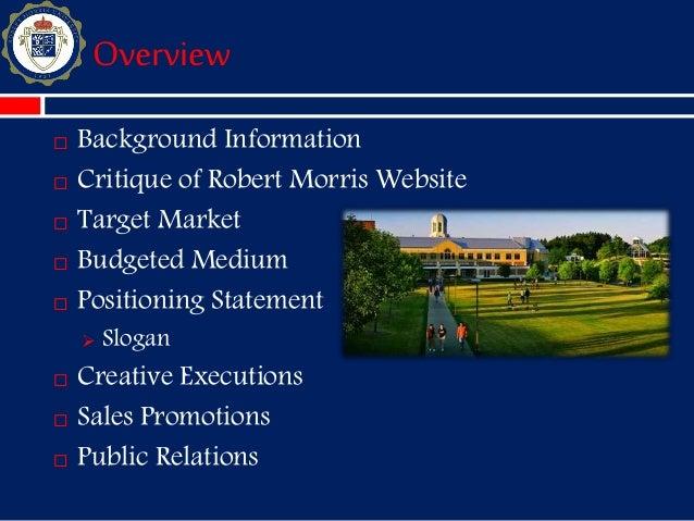 Robert Morris University_Presentation Slide 2