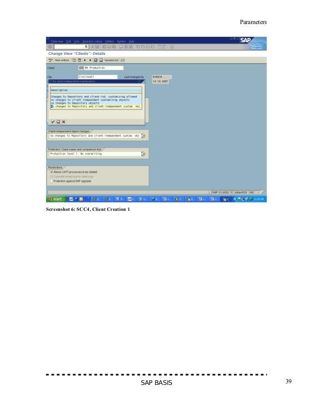 SAP BASIS WEEK 1 EBOOK