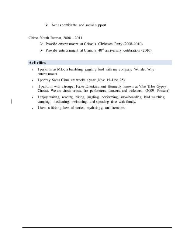 generic resume