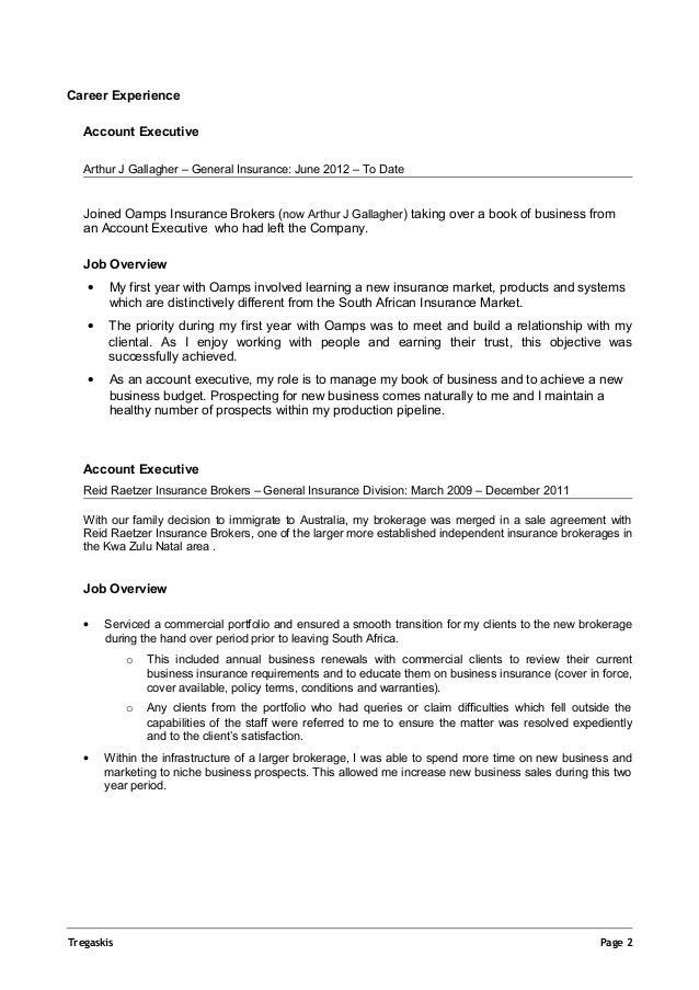 Douglas Tregaskis Resume Australia Feb 2015