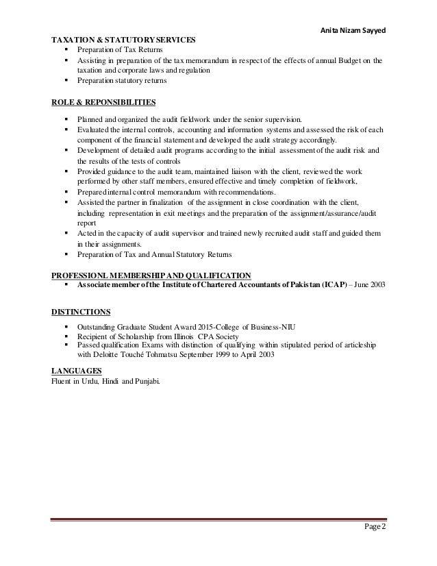 ANITA SAYYED resume for job fair