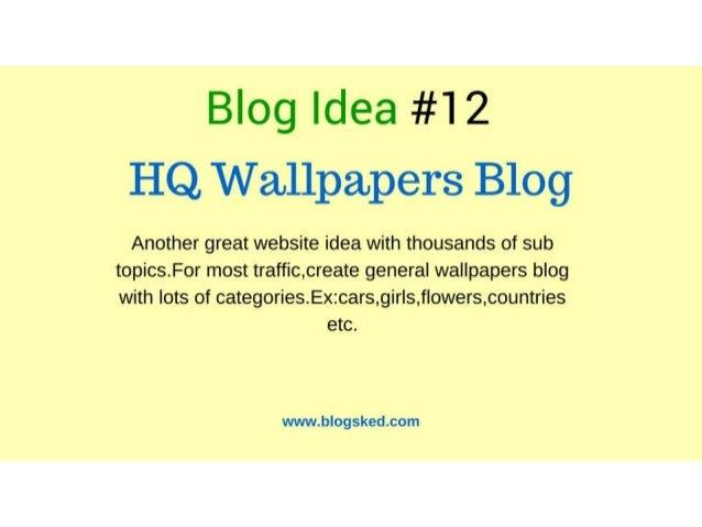 Unique ideas for home business