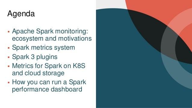 Monitor Apache Spark 3 on Kubernetes using Metrics and Plugins Slide 3