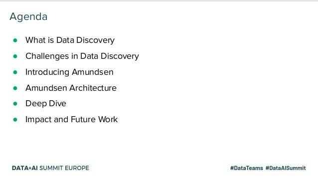 Solving Data Discovery Challenges at Lyft with Amundsen, an Open-source Metadata Platform Slide 3