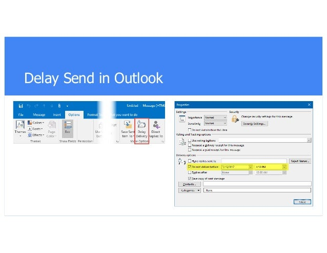 Redirect email replies in Outlook