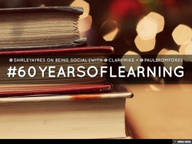 #60yearsoflearning
