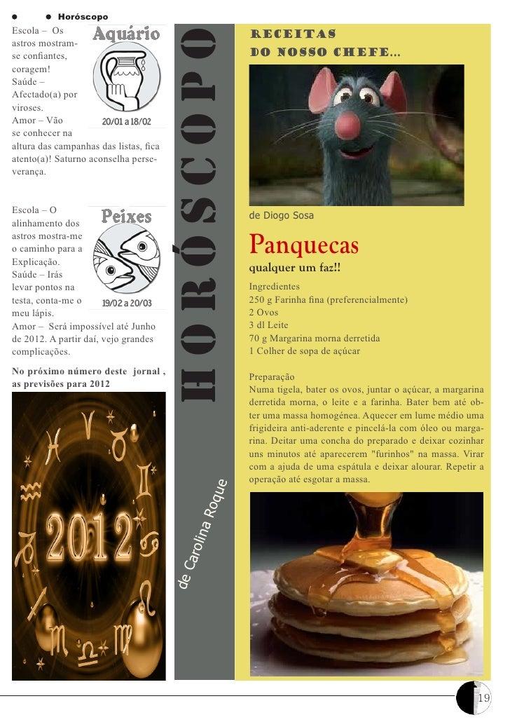 HoróscopoEscola – Os                                            Receitas                                        Horóscopoa...