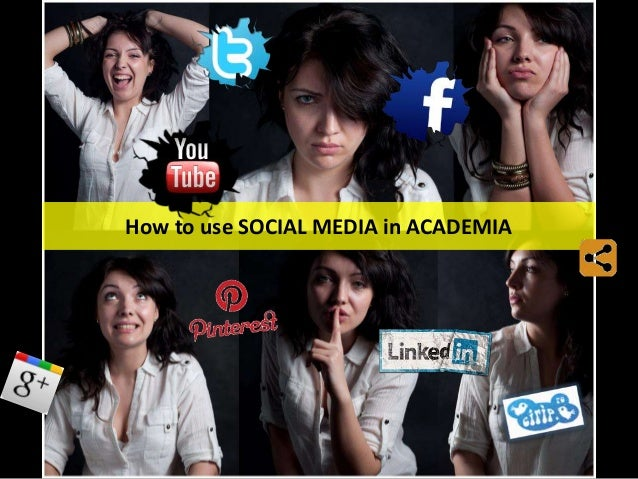How to use SOCIAL MEDIA in ACADEMIA