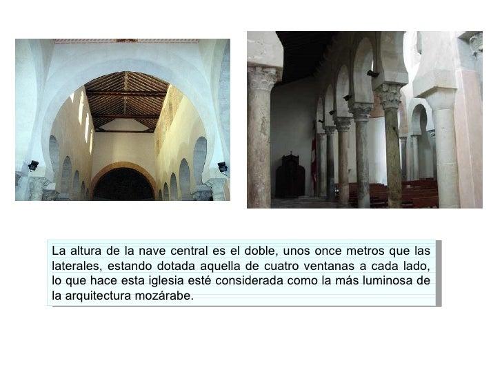 6 1 el arte mozarabe for Arquitectura mozarabe