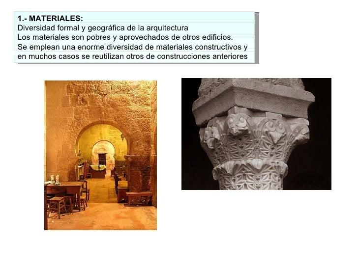 6 1 el arte mozarabe for Arte arquitectura definicion