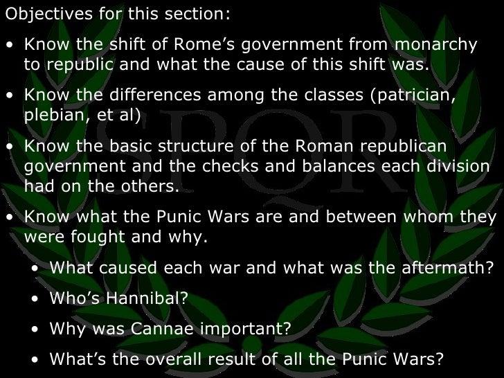 6.1 -The Roman Republic & Punic Wars Slide 2