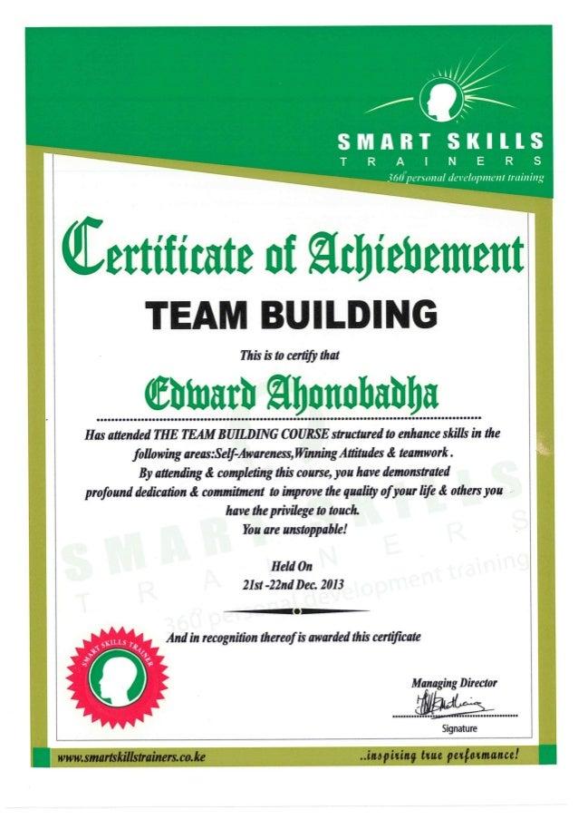 Level 2 Leadership and Team Skills