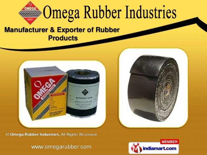 Manufacturer & Exporter of Rubber            Products