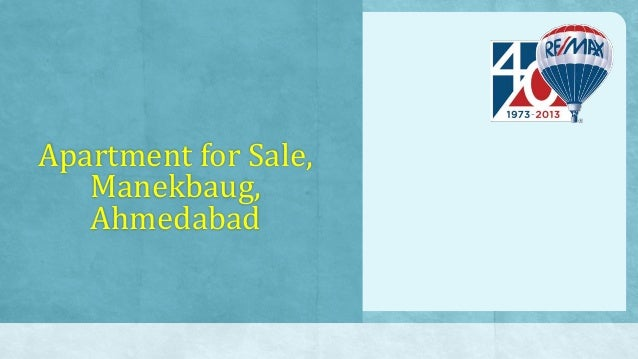 Apartment for Sale, Manekbaug, Ahmedabad