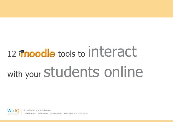 12	             interact                                  tools towith your students onlineWizIQeducation.online          ...
