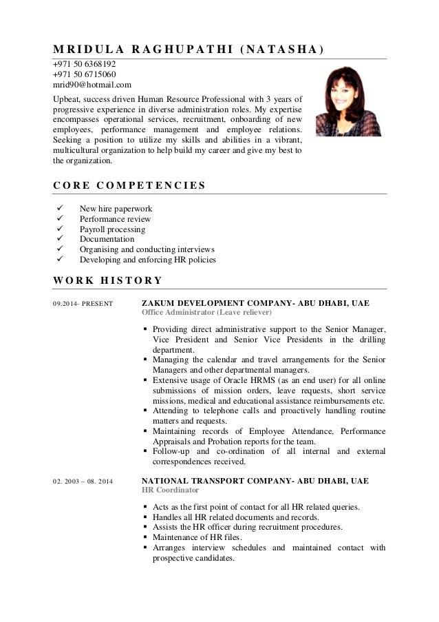 Mrid CV (2016)