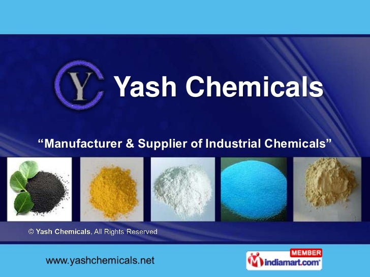 "Yash Chemicals""Manufacturer & Supplier of Industrial Chemicals"""