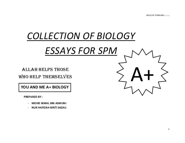 61330926 compilation-of-biology-essays-updated