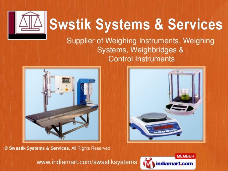 Supplier of Weighing Instruments, Weighing Systems, Weighbridges &<br /> Control Instruments<br />