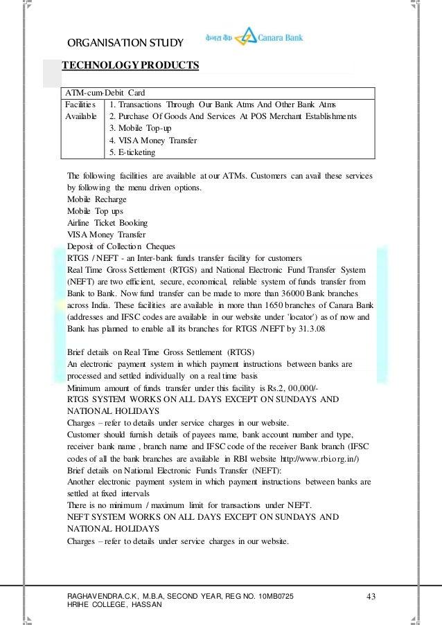 61367032 org-study-canara-bank