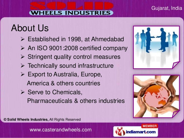 Gujarat, India    About Us          Established in 1998, at Ahmedabad          An ISO 9001:2008 certified company       ...