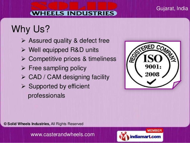 Gujarat, India    Why Us?            Assured quality & defect free            Well equipped R&D units            Compet...