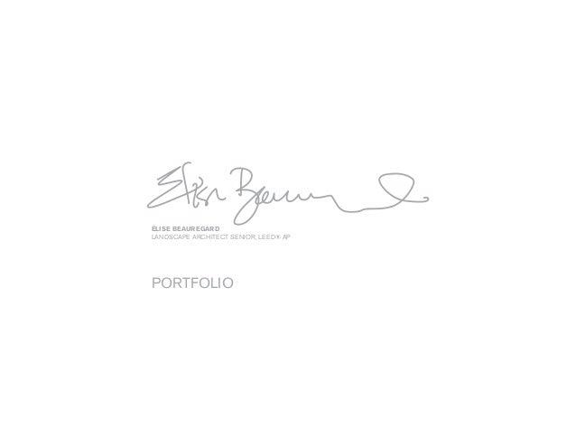 Élise BeauregardLandscape architect senior, LEED® APportfolio