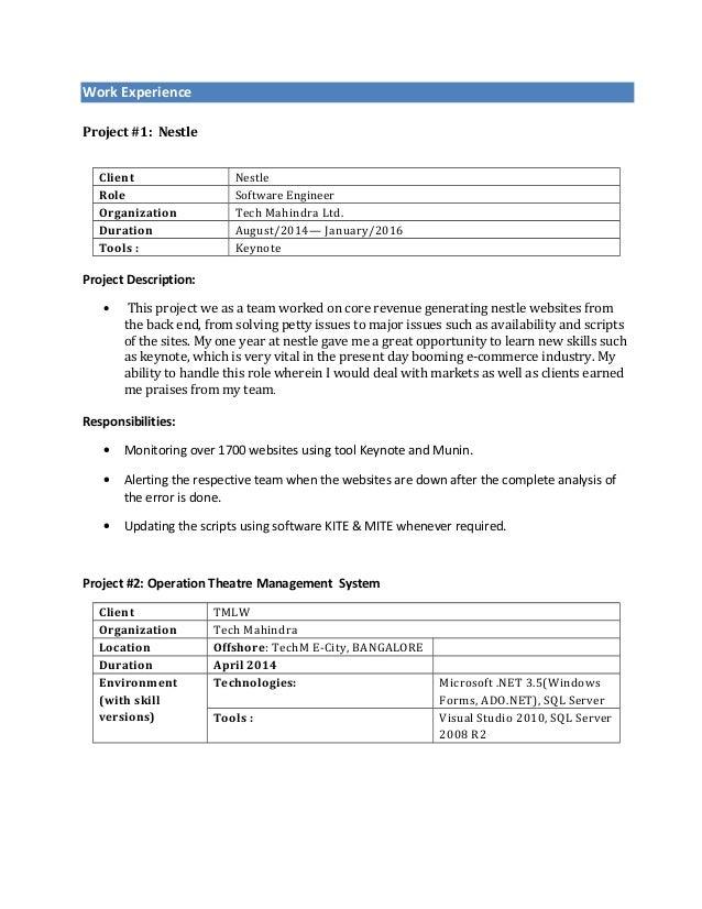 Ashwini Resume