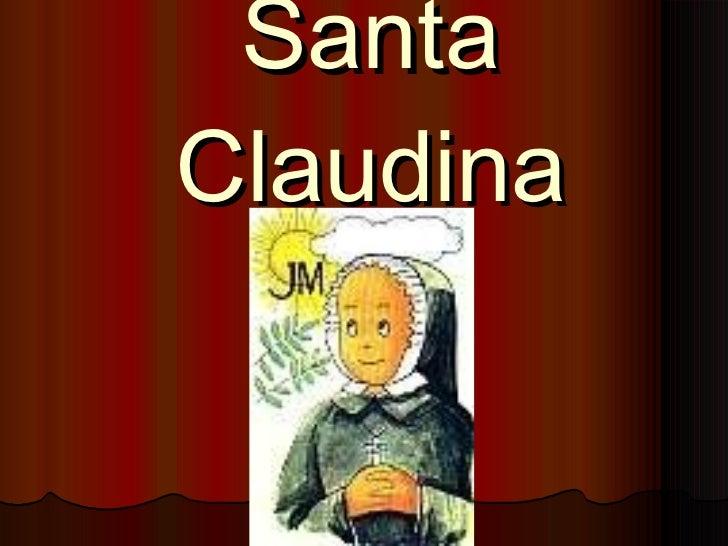 Santa Claudina