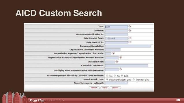 3030 AICD Custom Search