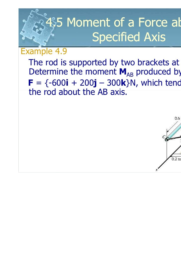 moment of a force about a specified axis pdf