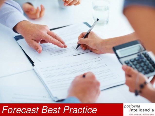 Forecast Best Practice