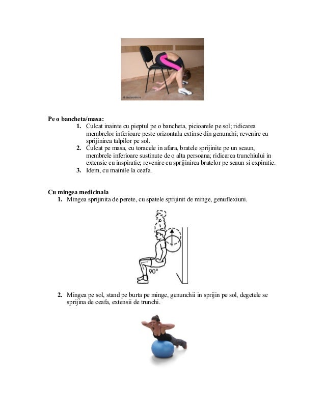 Boli ale tratamentului sacru coloanei vertebrale