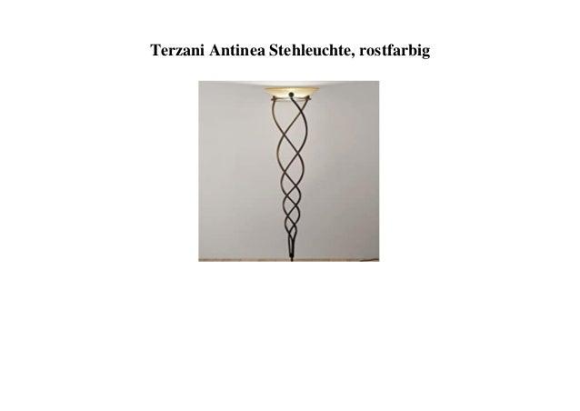 Terzani Antinea Stehleuchte, rostfarbig