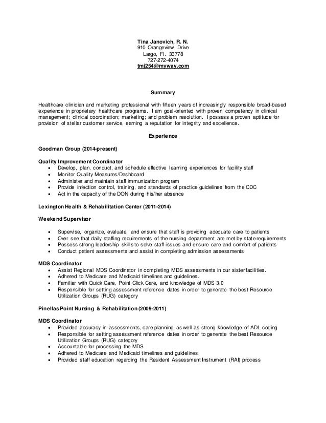 Registered Nurse Resume Vosvetenet – Registered Nurse Resumes