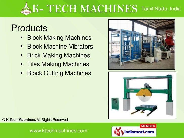 K Tech Machines Tamil Nadu India - 웹