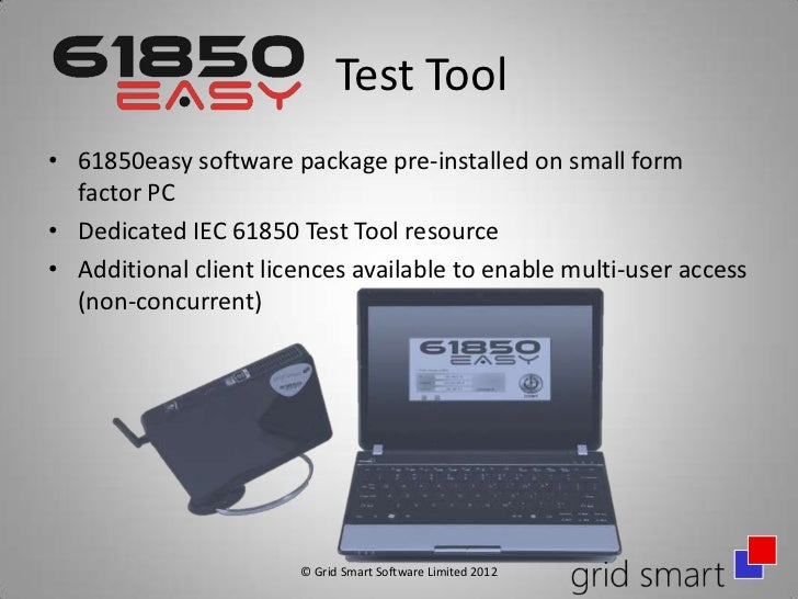61850easy Test Tool for IEC 61850 Networks & Systems