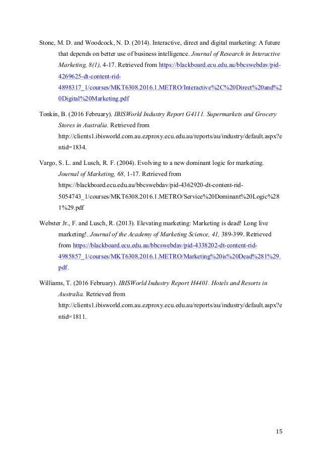 Sample of report essay pmr