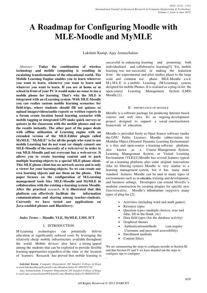 ISSN: 2278 – 1323                                                               International Journal of Advanced Research...