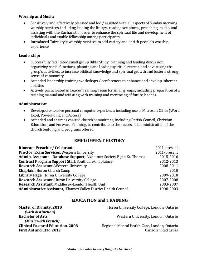 anita evans hi def church resume aug 2016 pdf