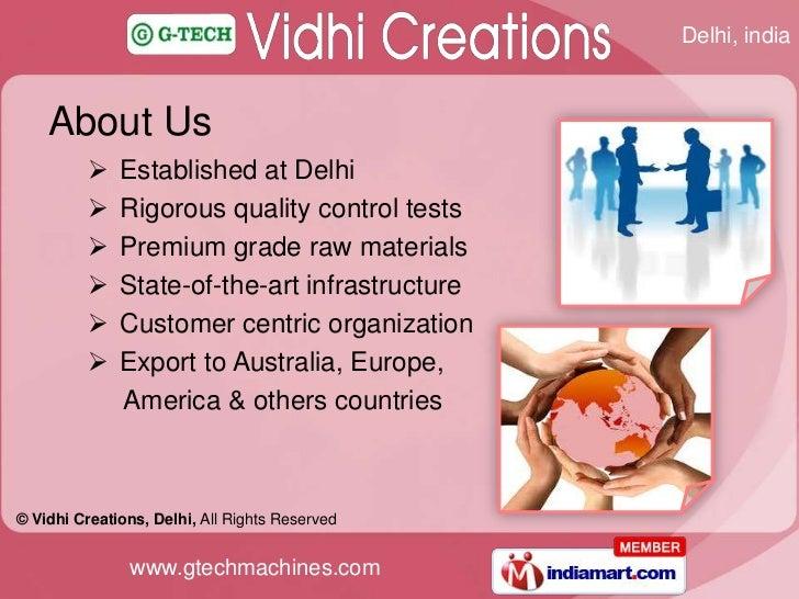 Vidhi Creations Delhi India Slide 2