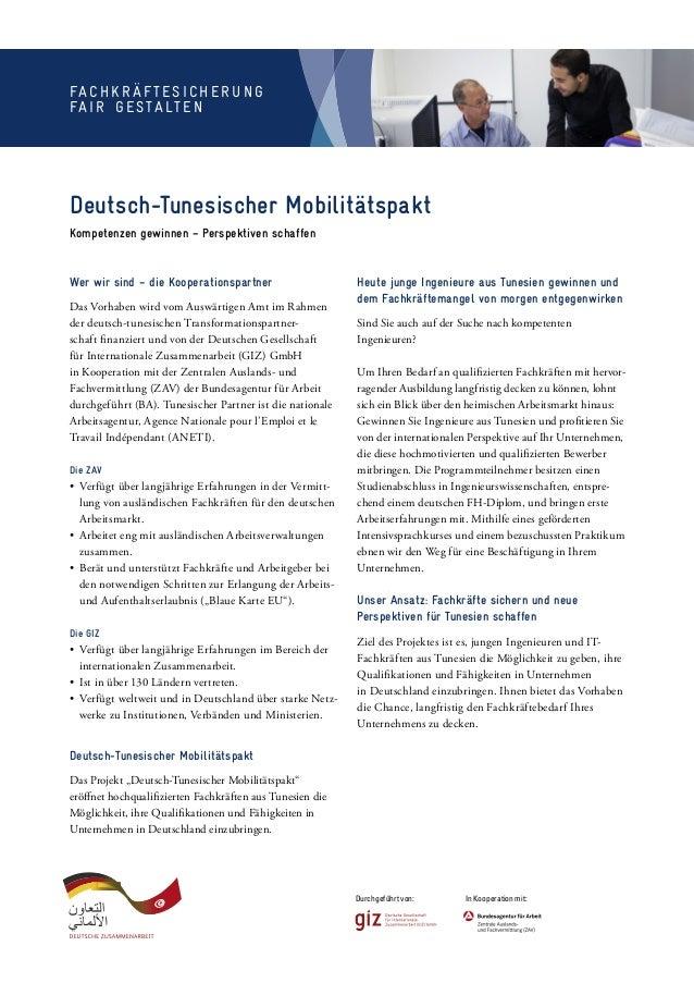 Wer wir sind – die Kooperationspartner Das Vorhaben wird vom Auswärtigen Amt im Rahmen der deutsch-tunesischen Transforma...