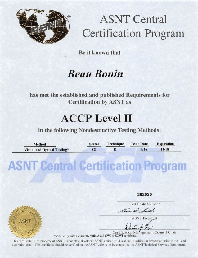 Asnt Certification Lookup