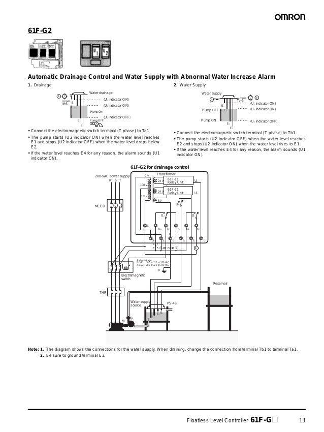 61F Floatless Level Controller Datasheet