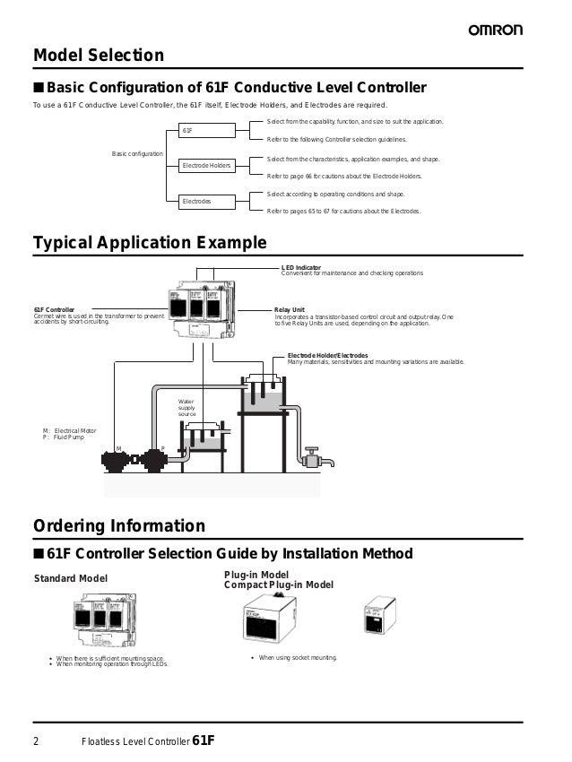 61F Floatless Level Controller Datasheet Slide 2