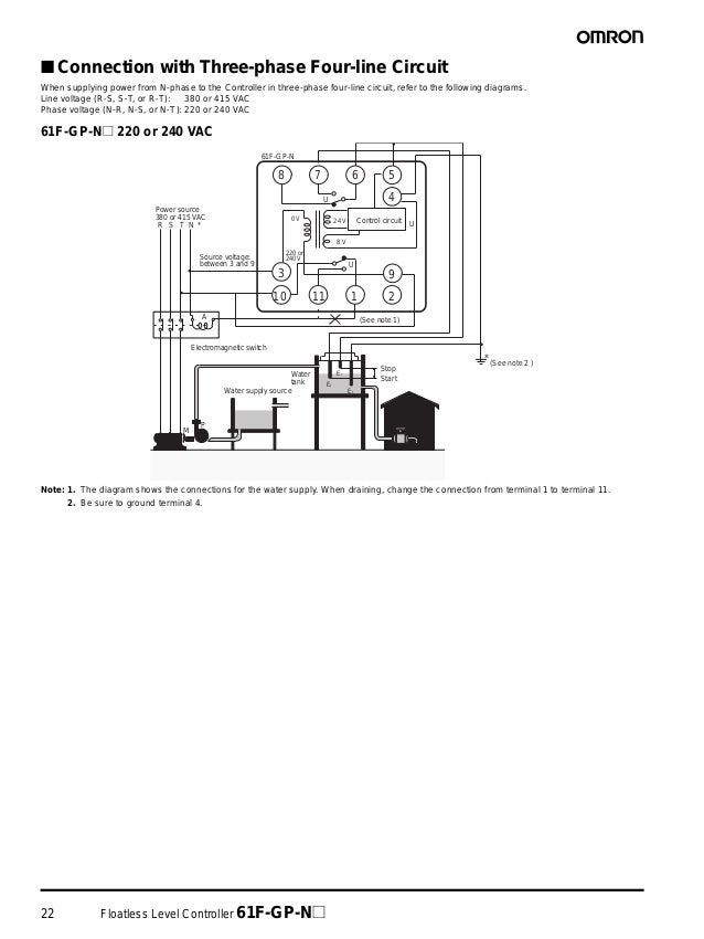 Wiring Diagram Water Level Control Omron : Omron f gp n wiring diagram images