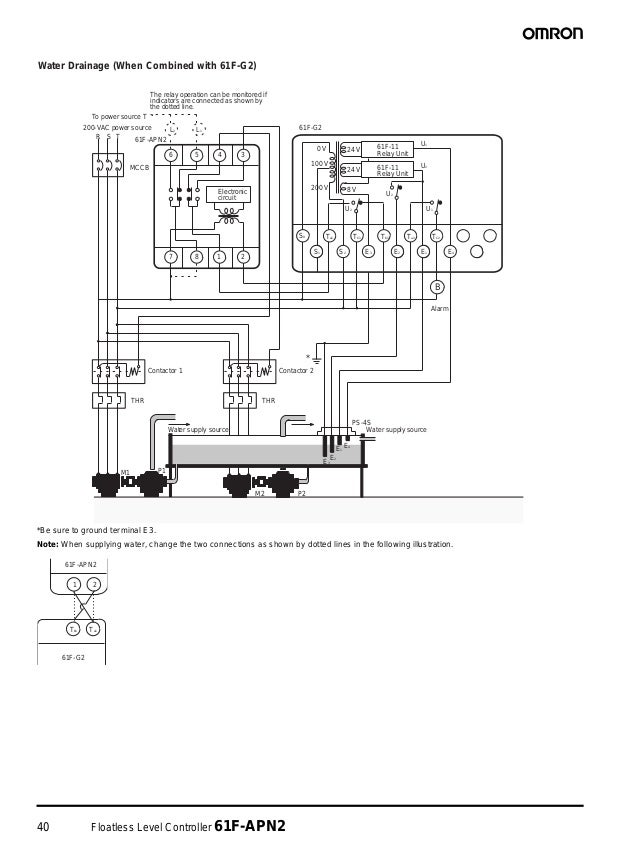 Wiring Diagram Water Level Control Omron : Omron floatless level switch wiring diagram