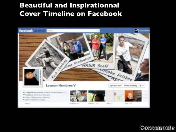 Beautiful and InspirationnalCover Timeline on Facebook