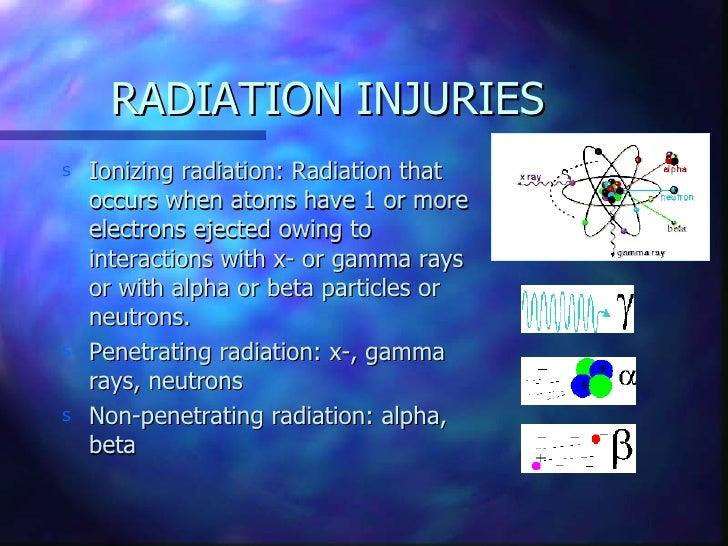 radiation injury